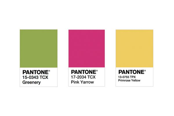 Pantone release their 2017 colour trend predictions